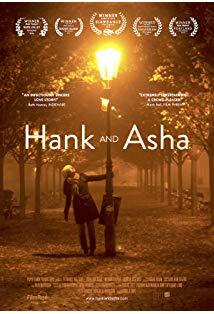 Hank and Asha kapak