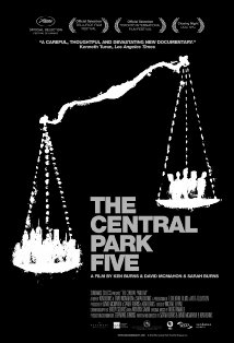 The Central Park Five kapak