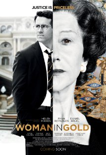 Woman in Gold kapak