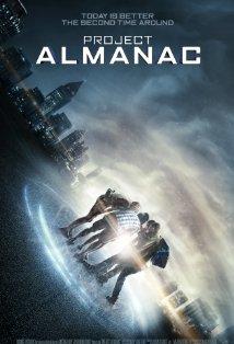 Project Almanac kapak
