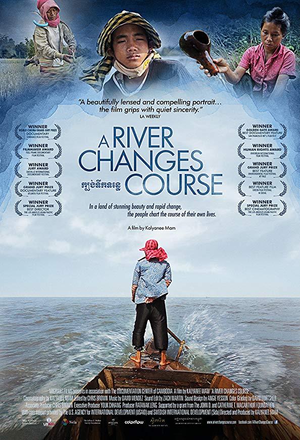 A River Changes Course kapak