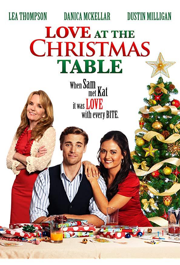 Love at the Christmas Table kapak