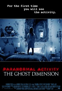 Paranormal Activity: The Ghost Dimension kapak