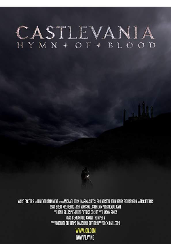 Castlevania: Hymn of Blood kapak