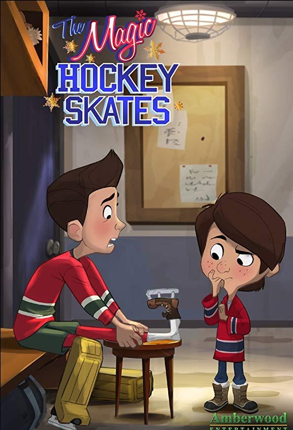 The Magic Hockey Skates kapak