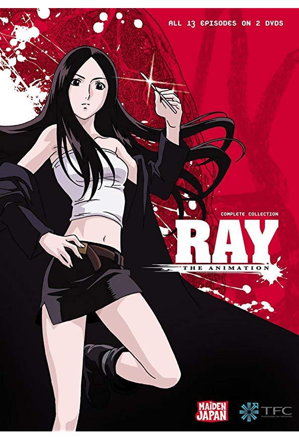 Ray the Animation kapak
