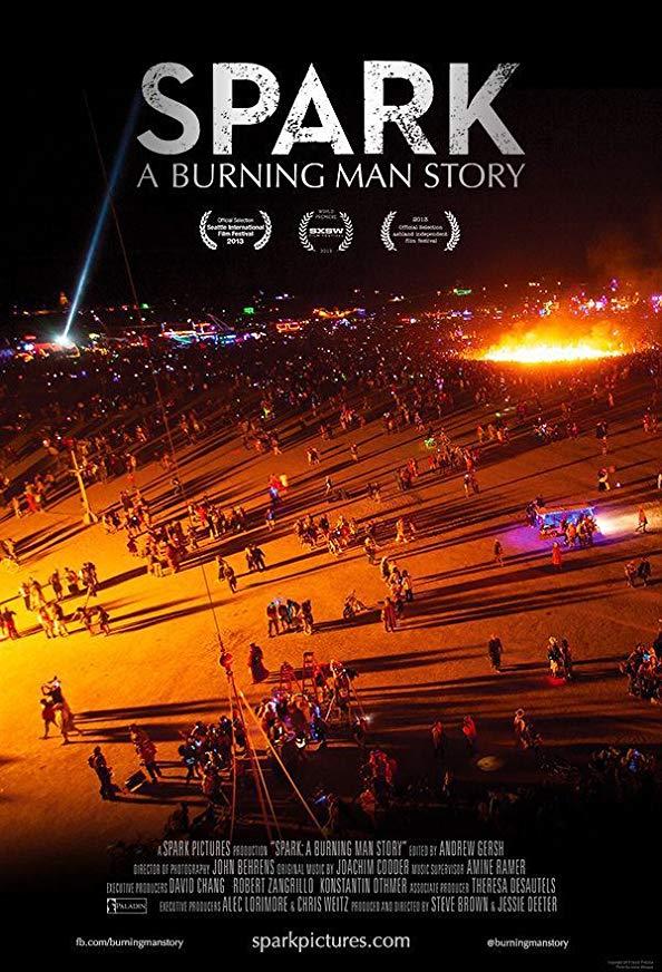 Spark: A Burning Man Story kapak