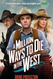 A Million Ways to Die in the West kapak