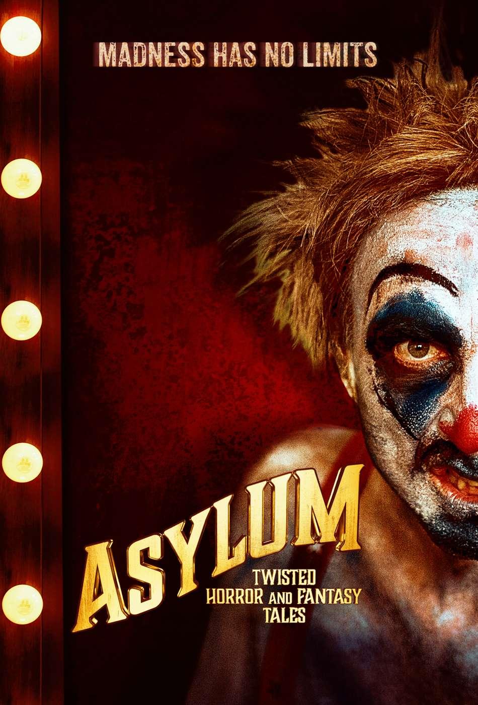 Asylum: Twisted Horror and Fantasy Tales kapak