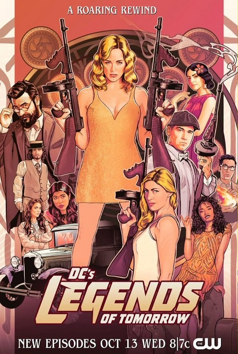 DC's Legends of Tomorrow kapak