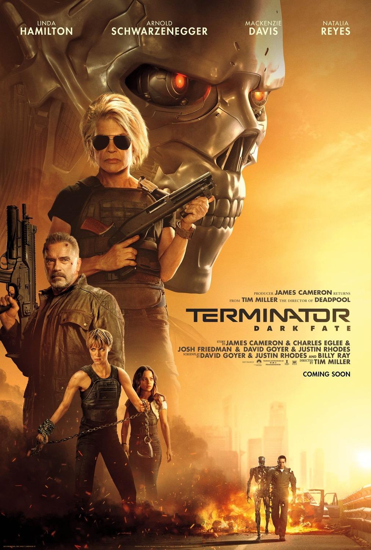 Terminator: Dark Fate kapak