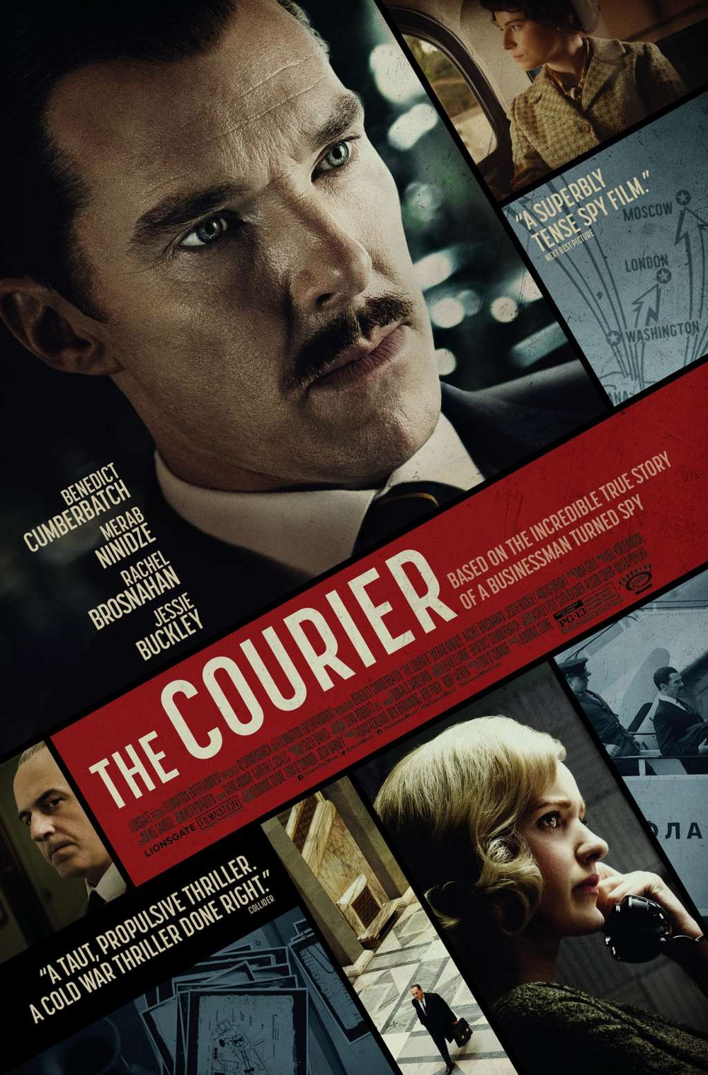 The Courier kapak