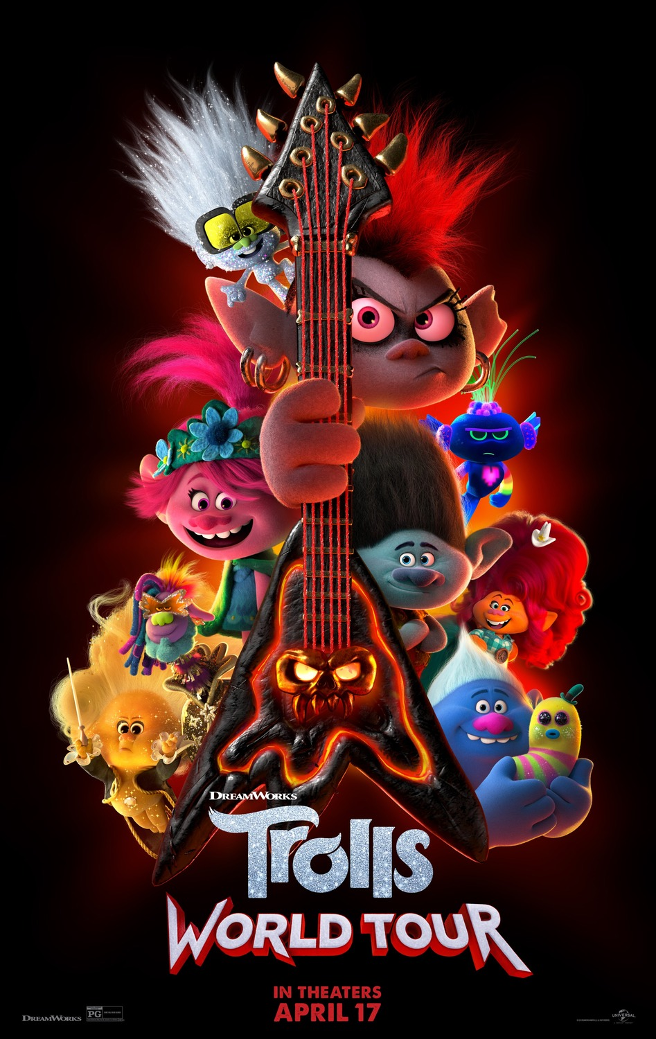 Trolls World Tour kapak