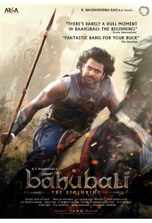 Bahubali: The Beginning kapak
