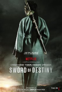 Crouching Tiger, Hidden Dragon: Sword of Destiny kapak