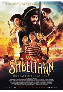 Kapitein Sabeltand en de schat van Lama Rama kapak