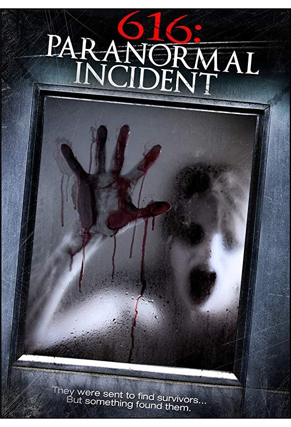 616: Paranormal Incident kapak