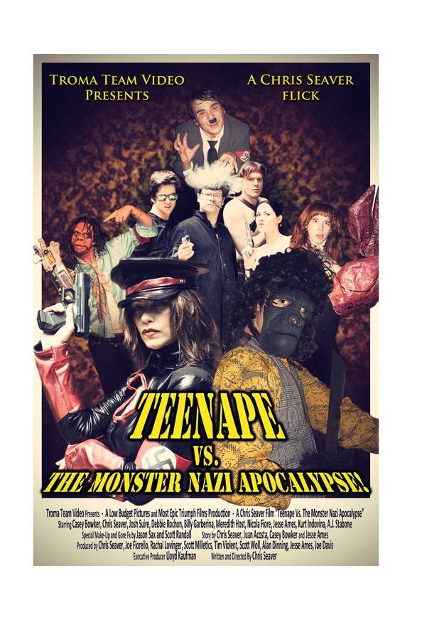 Teenape Vs. The Monster Nazi Apocalypse kapak