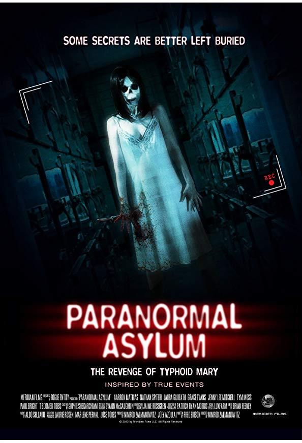 Paranormal Asylum kapak