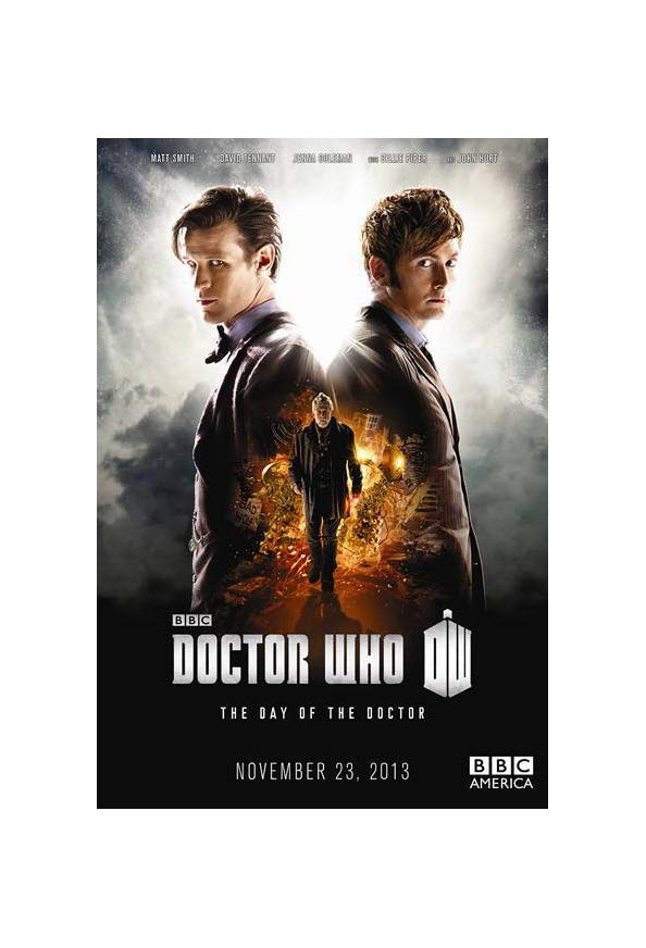 """""""Doctor Who"""" The Day of the Doctor kapak"""