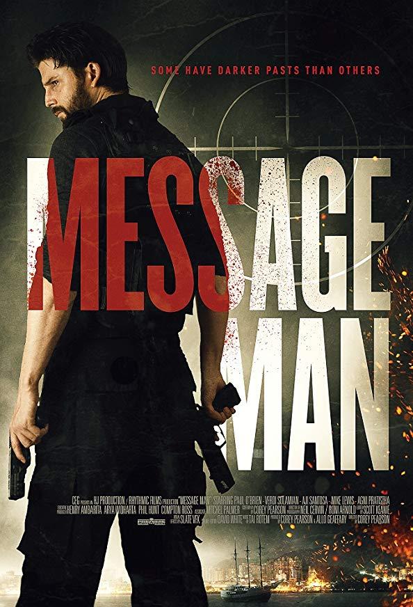 Message Man kapak