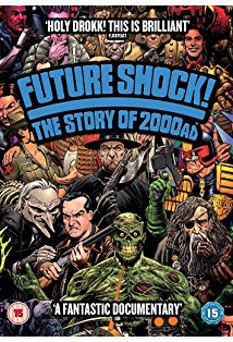 Future Shock! The Story of 2000AD kapak