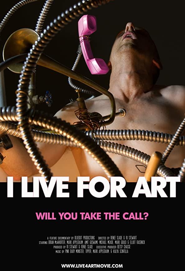 I Live for Art kapak
