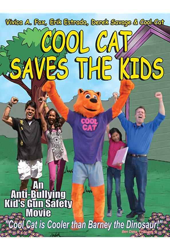 Cool Cat Saves the Kids kapak