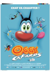 Oggy and the Cockroaches: The Movie kapak