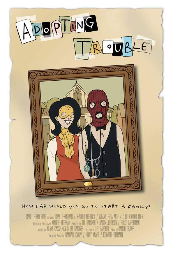 Adopting Trouble kapak