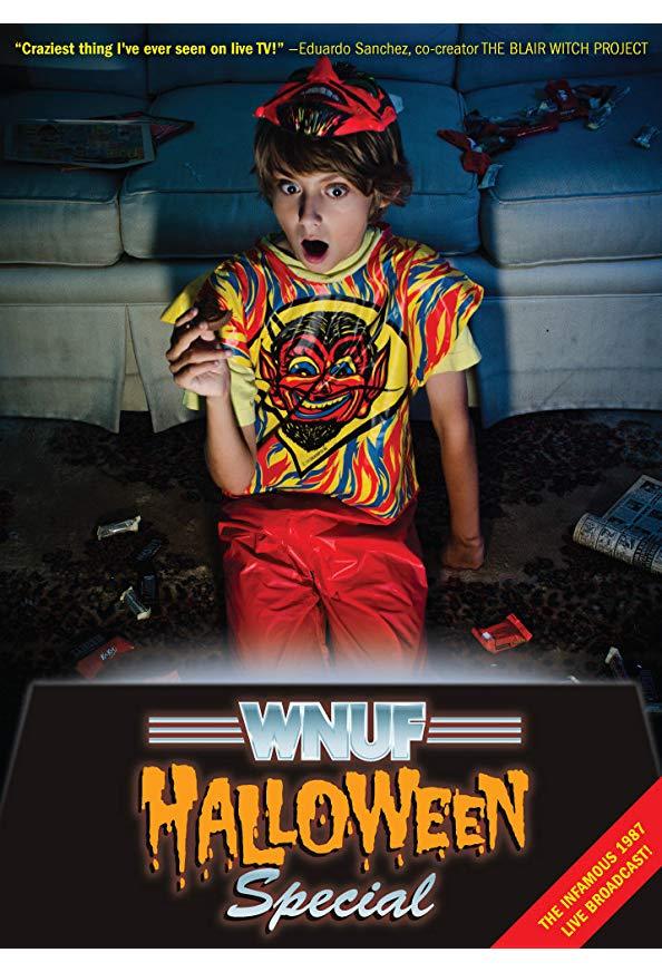 WNUF Halloween Special kapak