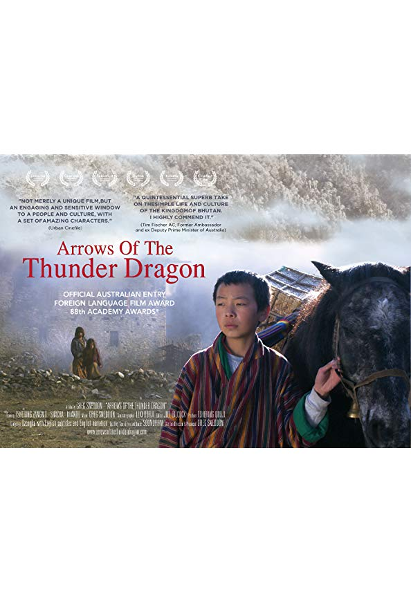 Arrows of the Thunder Dragon - Director's Cut kapak