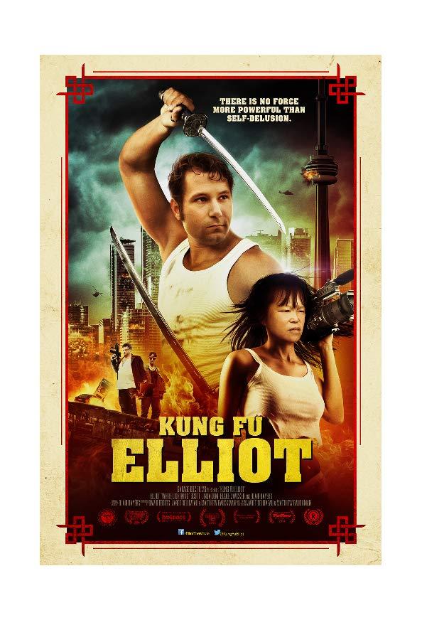 Kung Fu Elliot kapak