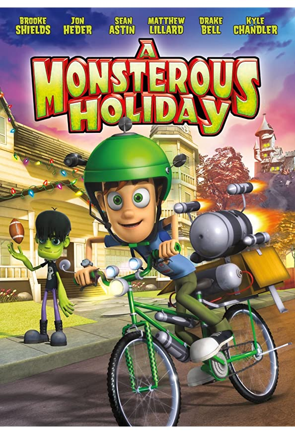 A Monsterous Holiday kapak