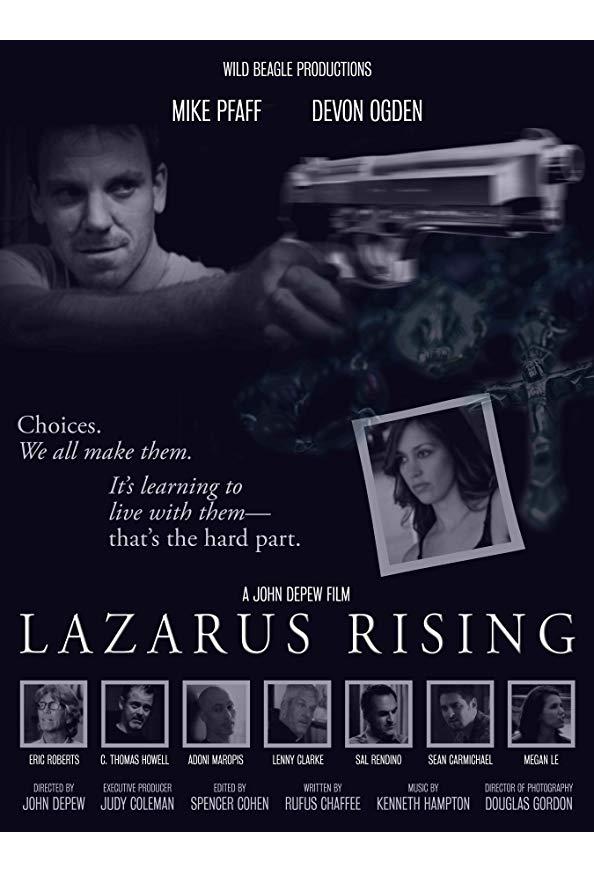Lazarus Rising kapak