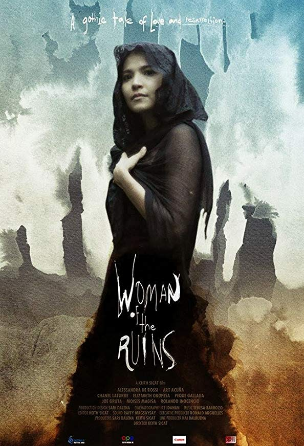 Woman of the Ruins kapak