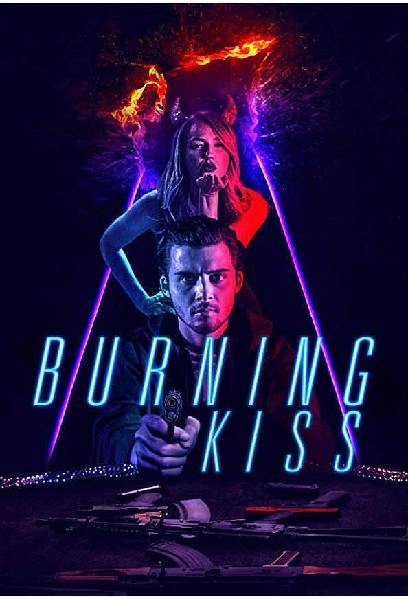 Burning Kiss kapak