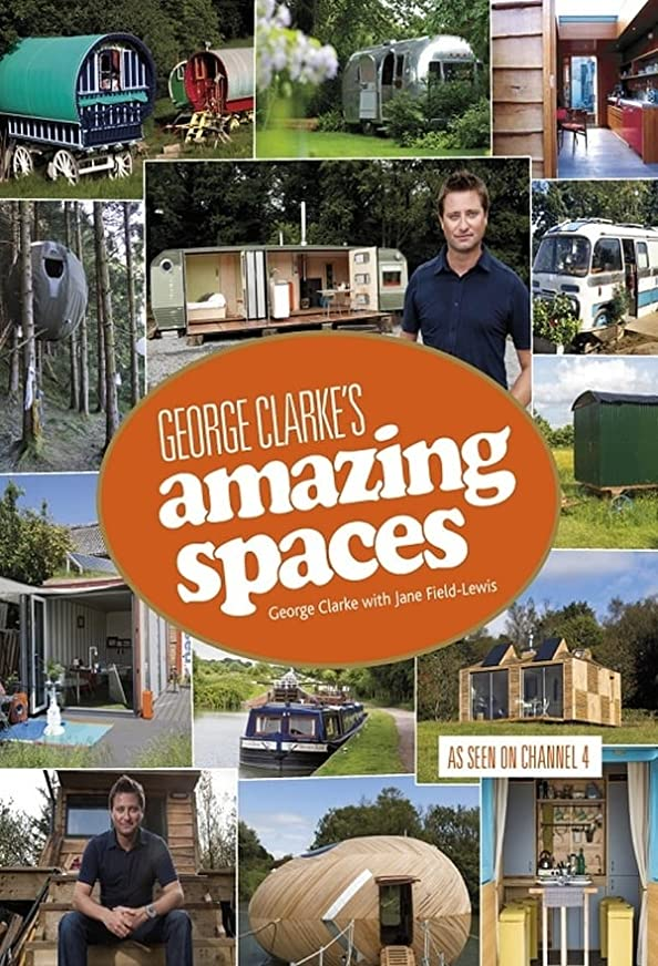 George Clarke's Amazing Spaces kapak