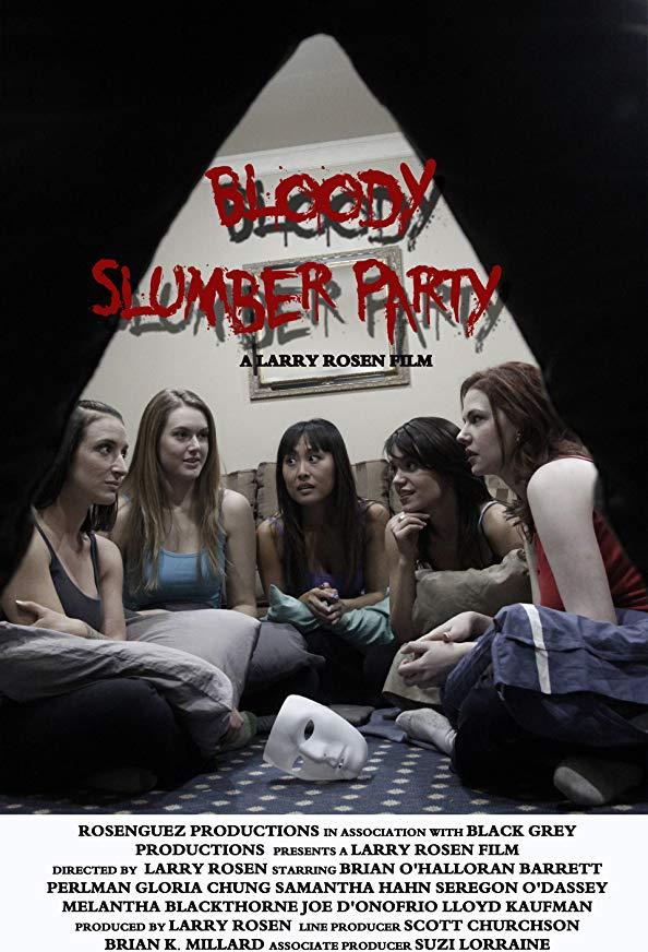 Bloody Slumber Party kapak