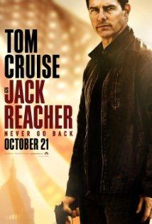 Jack Reacher: Never Go Back kapak