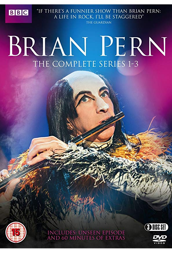 The Life of Rock with Brian Pern kapak