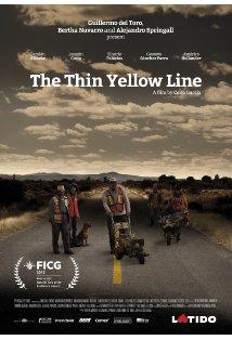 The Thin Yellow Line kapak