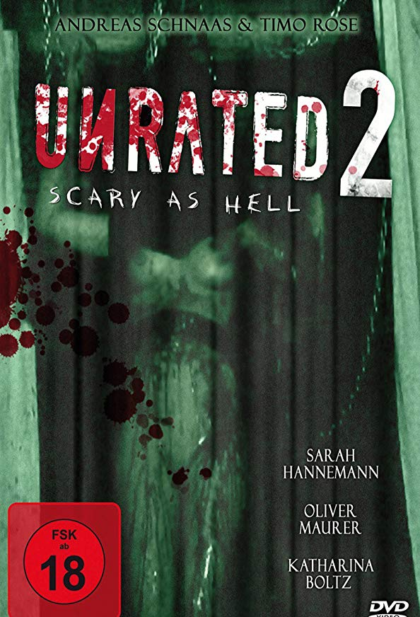 Unrated II: Scary as Hell kapak