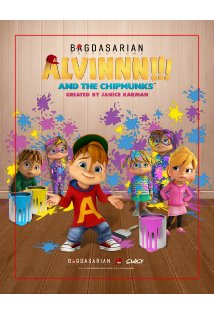 Alvinnn!!! And the Chipmunks kapak