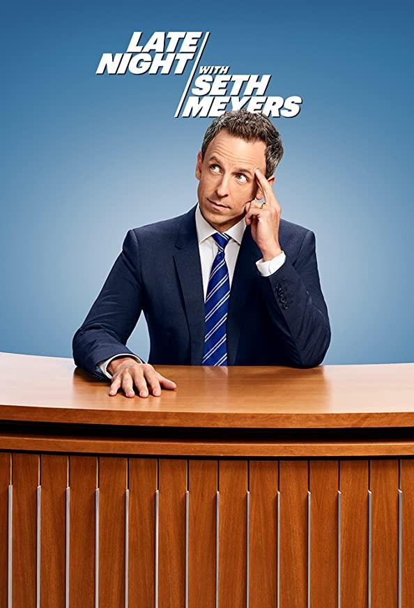 Late Night with Seth Meyers kapak