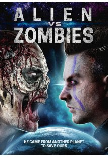 Alien Vs. Zombies kapak