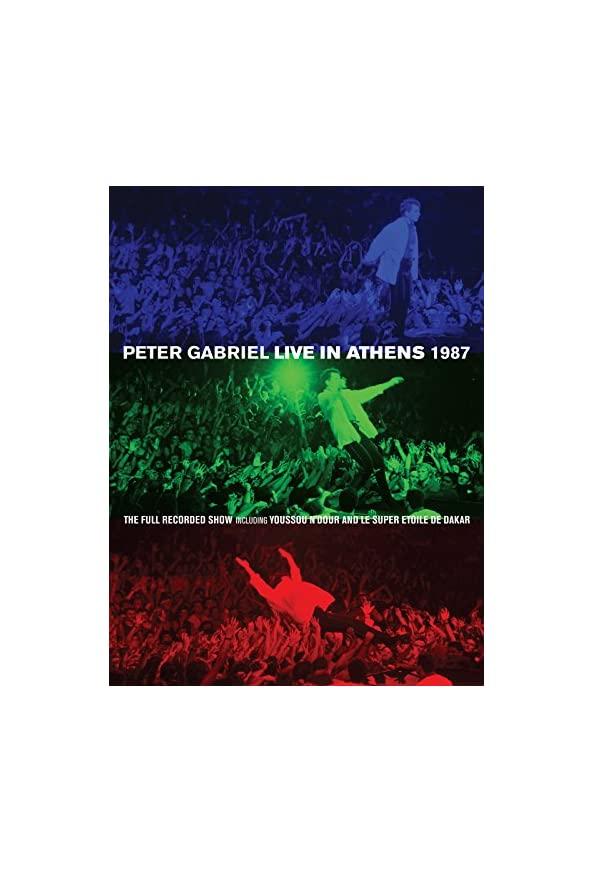 Peter Gabriel: Live in Athens 1987 kapak