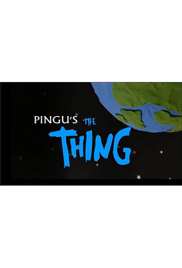 Pingu's the Thing kapak