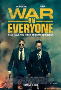 War on Everyone kapak