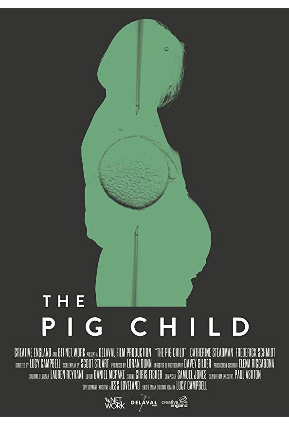 The Pig Child kapak